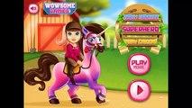 Bebé Barbie Pony Cuidar Mejor de bebé, juegos para Niños de dibujos animados para niños