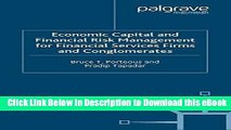 eBook Free Economic Capital and Financial Risk Management for Financial Services Firms and