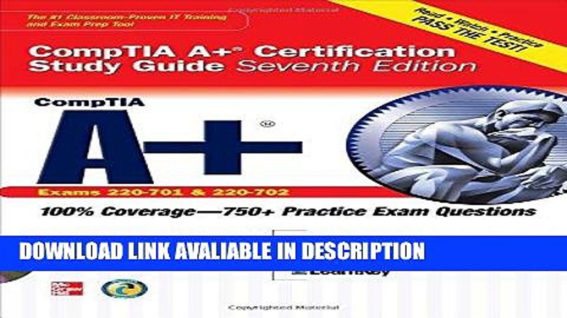 FREE [PDF] CompTIA A+ Certification Study Guide, Seventh Edition (Exam 220-701   220-702)