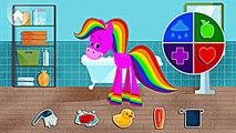 Mi Mascota arco iris Caballo | Jugar y cuidar de arco iris Caballo para el Niño por Babyfirst