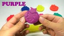 Divertido el Aprendizaje de los Colores con Play Doh Pelota con Angry Birds Moldes Creativas y Divertidas para los Niños