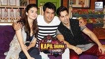 Alia Bhatt & Varun Dhawan On The Sets Of 'The Kapil Sharma Show'