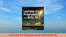READ ONLINE  Learning C Programming with Unity 3D