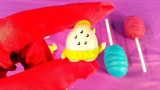Lollipop Play Doh Surprise Eggs Frozen Toys Candy Surprises Shopkins Elsa Anna Hello Kitty