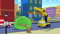 Tom la Dépanneuse et Amber l'Ambulance à Car City _ Voitures et camions dessins animés-PNmmCjyBVUg