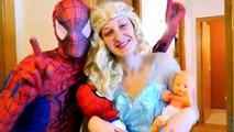 POCAHONTAS STUCK in JAIL vs ABOMINABLE SNOWMAN w/ Spiderman