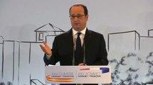 """""""Ce que proposent les mouvements nationalistes et extrémistes, c'est une fausse souveraineté."""" Le président François Hollande hier au sommet hispano-français de Malaga"""