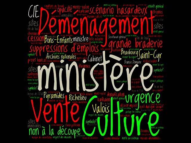 Le ministère de la Culture n'est pas à vendre (Audrey)
