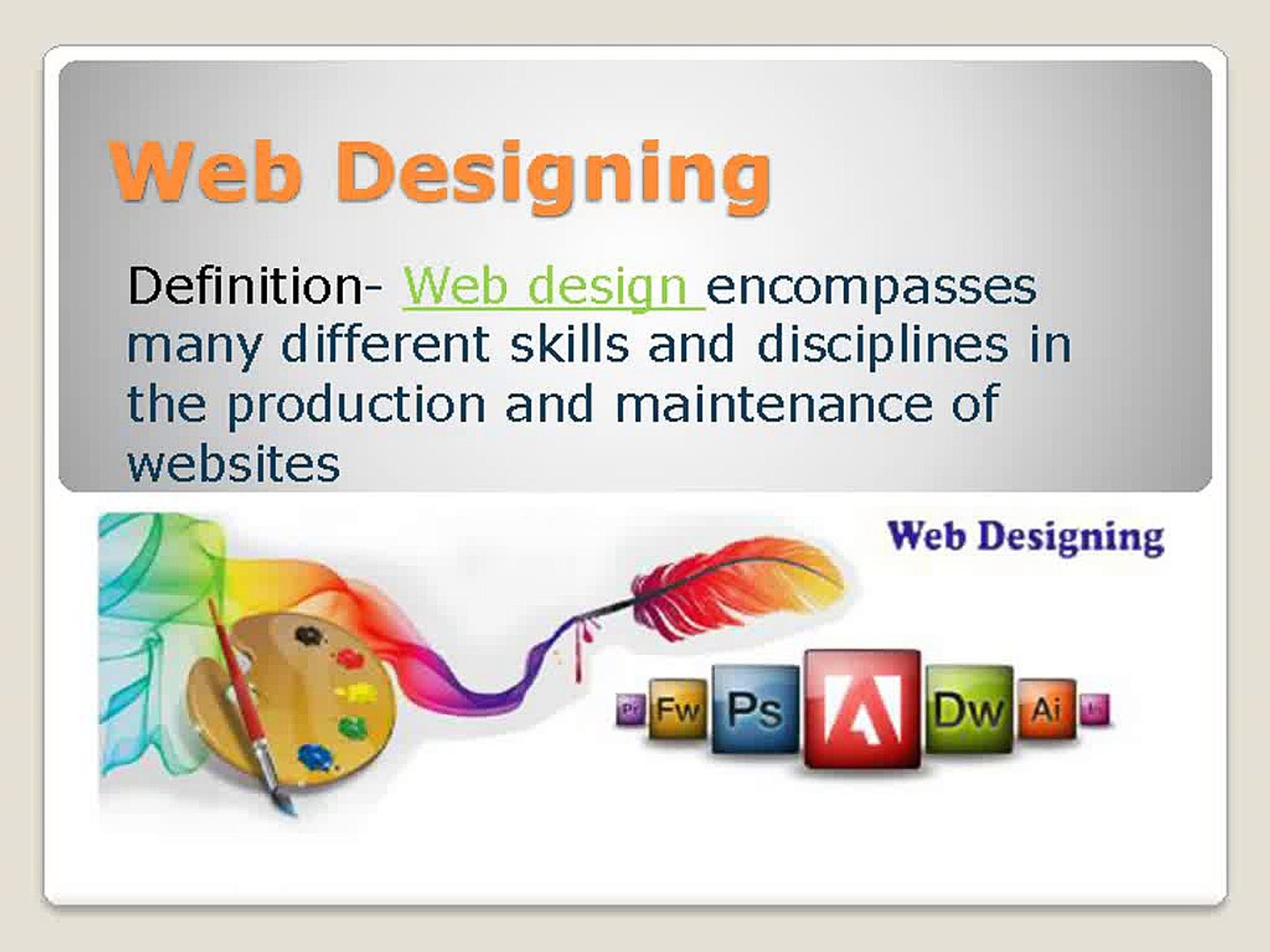 Web Designing Courses in Pune |Web designing Classes in Pune | 3DOT  Technologies