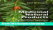 eBook Free Medicinal Natural Products: A Biosynthetic Approach Free Online