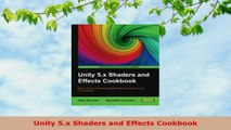 Download Unity 5 x Shaders and Effects Cookbook PDF Online - video
