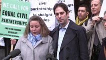 Heterosexual couple lose civil partnership court battle