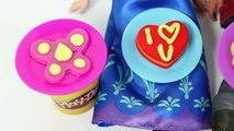 FROZEN Anna and Kristoff Valentines Day Play Doh Disney Frozen Princess Anna Doll San Val