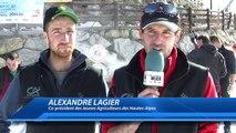 Alpes du Sud : les Jeunes Agriculteurs font goûter leurs viandes à la station des Orres !