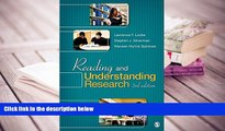 Best Ebook  Reading and Understanding Research  For Trial