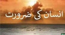 Insaan ki Zaroorat Shaykh Zulfiqar Ahmed