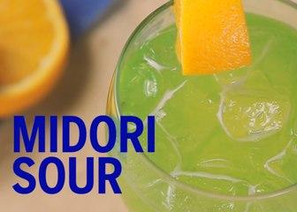 Midori Sour Drink Recipe