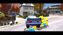 Minions & Minion Colors Disney Cars Lightning McQueen Nursery Rhymes for Childre