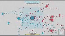 I AM LEVEL 75 DOMINATOR! New Update Become Dominator / Diep.io Dominator vs Arena Closer /