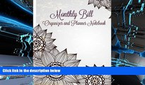 Best Ebook  Monthly Bill Organizer and Planner Notebook (Simple Budget Planners-Includes Bill