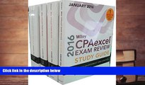Audiobook  Wiley CPAexcel Exam Review 2016 Study Guide January: Set (Wiley Cpa Exam Review) O. Ray