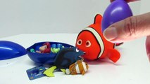FINDING DORY! Play-Doh Surprise Eggs Doubled! FINDING DORY AND NEMO Tell Fish Jokes!! SUBS