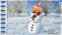 ¿QUIERES CONSTRUIR UN muñeco de NIEVE con la Princesa ToysReview al aire libre de la Diversión de la Familia en la Nieve Ola