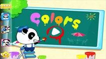 Bebé Panda Aprender Acerca de los Colores | los Niños a Aprender los Colores y Colorear Imágenes | Babybus Niños