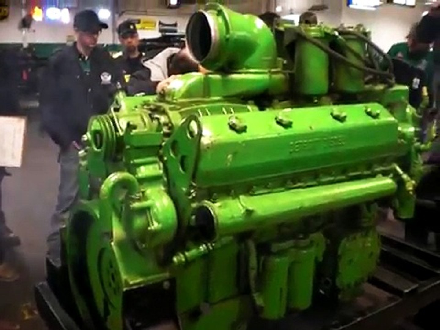 Amazing 2 Stroke V12 Detroit Diesel Repaired And Start Up Video Dailymotion