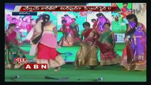 Spring Fire Fest | Students performs  cultural dances at SVS College | Warangal ..