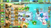Plants Vs Zombies 2 - Cob Cannon vs Jurassic World Incoming Update! (PvZ 2 Chinese Version