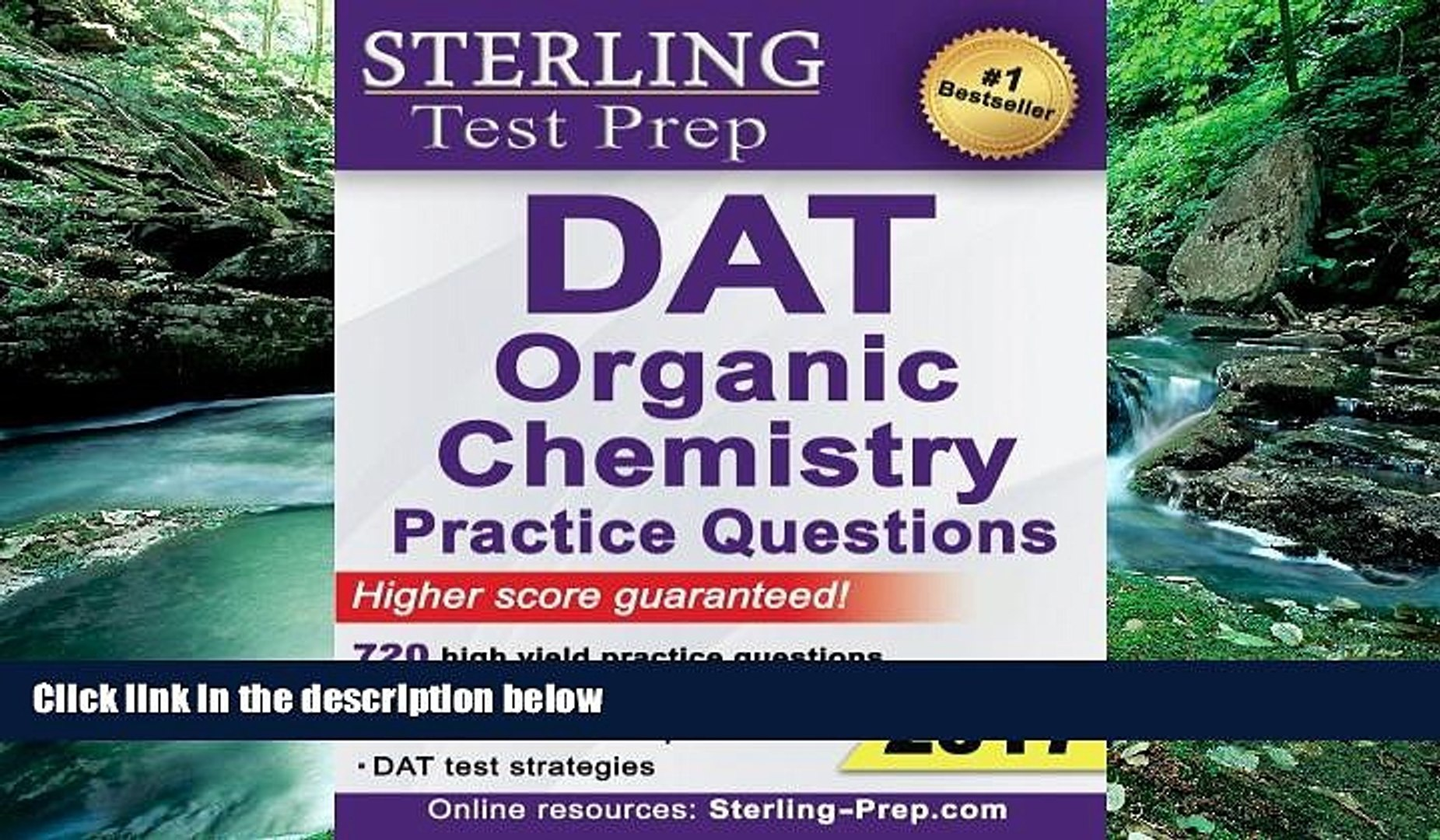 Download Sterling Test Prep DAT Organic Chemistry Practice Questions: High  Yield DAT Questions Pre