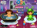 Bebé Dora Congelado Baño para ir al Baño de Dora la exploradora Juegos de Frozen