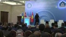 """Hocalı Soykırımı, Insanlığa Karşı Suçlar ve Terörizm"""" Konferansı - Çavuşoğlu (1)"""