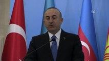 """Hocalı Soykırımı, Insanlığa Karşı Suçlar ve Terörizm"""" Konferansı - Çavuşoğlu (2)"""