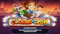 Cooking Dash 2016 (By Glu Games) - iOS / Android - Gameplay Video