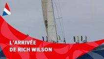 J107 : L'arrivée de Rich Wilson aux Sables d'Olonne / Vendée Globe