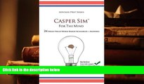 PDF [Download]  Casper Sim for the Mind: 24 High-Yield Word-Based Scenarios + Answers (Advisor
