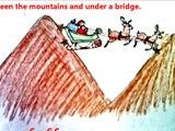 La Terapia de la música de Navidad canción de Mi Paseo con papá noel para los niños / los niños de Vacaciones