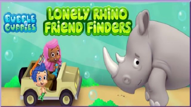 Bubble Guppies and Lonely Rhino and Crazy Hair Day Batman Video Games