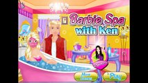 Barbie Spa Day With Ken Fun Kids Games for Girls new