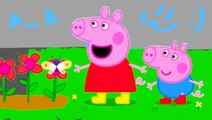 Learn Colors with Peppa Pig. Coloring pages for kids and children. Peppa Pig Coloring book