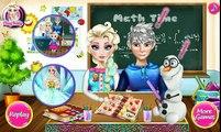 ♥ Disney Frozen Juegos de la Película Elsa y Jack Besos Congelados Juego ♥