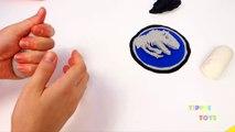 HUGE Jurassic World Play Doh Surprise Egg Indominus Rex, T-Rex, Surprise Toys & Dino Fossi