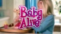 Bebé Vivo Mi Bebé Todo se ha Ido Muñeca que Ella Come, Bebe hace pis Caca de Hasbro itsplaytime612