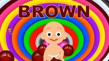 Los colores de Aprendizaje para los Niños 3D de la muñeca del Bebé la hora del baño play 3 | Aprender los colores para los niños de Gatear