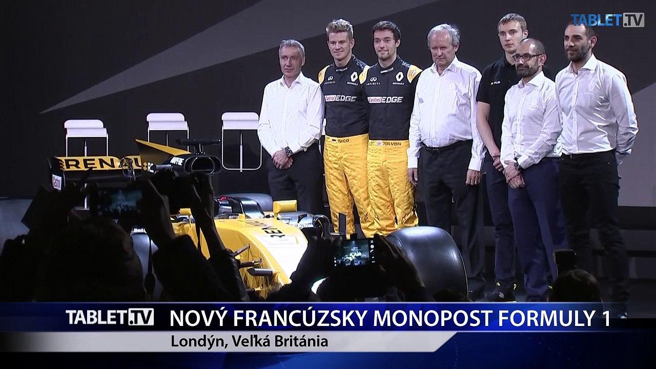 Francúzsky tím F1 predstavil nový monopost pre sezónu 2017