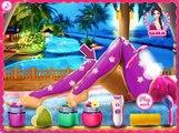 BARBIE BEAUTY SALON GAME - SPA MAKEOVER GAMES - MAKE UP GAMES FOR GIRLS