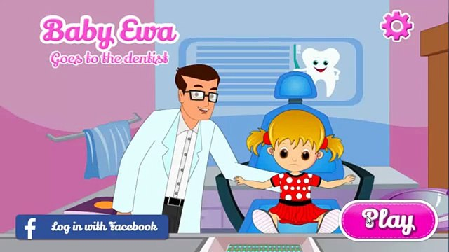Baby Eva Playing Dentist Game | Kids Popular Games How To Play | Baby Eva