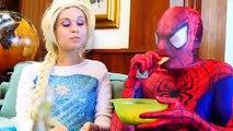 SuperHeroes Babies Crying Soccer Spiderman Superman Baby Hulk Frozen Elsa Baby Crying Fun
